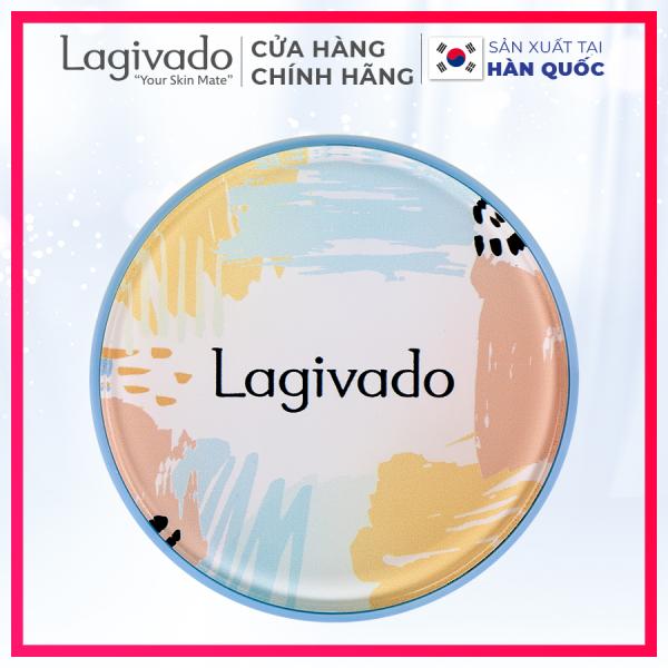 [HÀNG MỚI VỀ] Phấn nước che khuyết điểm Hàn Quốc chính hãng Lagivado kiềm dầu, mỏng Mịn, che phủ tốt, lâu trôi Just Perfection Cushion Foundation  – Tone trắng sáng