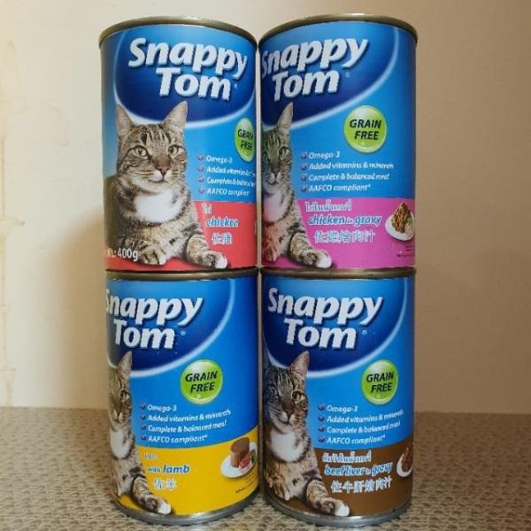 pate mèo trưởng thành SNAPPY TOM 400gr