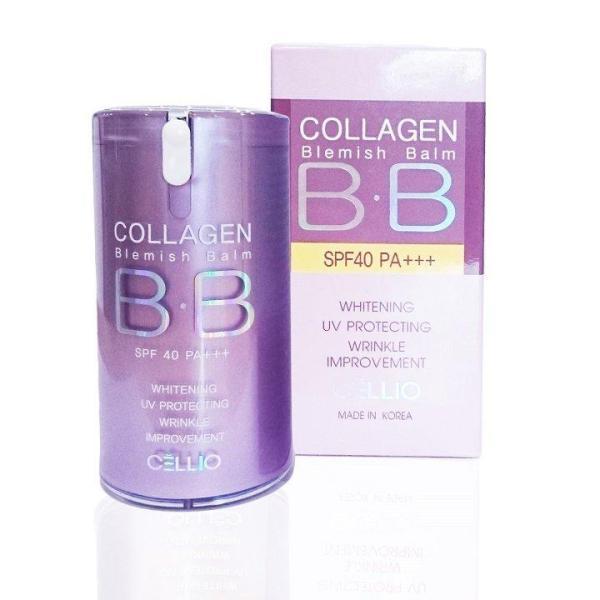 Kem Nền BB Cellio Collagen Blemish Balm SPF40 PA+++40ml nhập khẩu