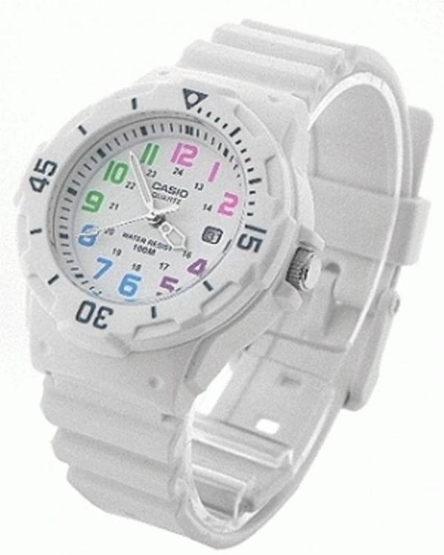 Đồng hồ nữ dây nhựa Casio LRW-200H-7BVDF (Trắng)