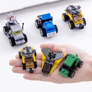 Combo đồ chơi trẻ em 3 xe ô tô xếp hình LEGO CITY từ 27 đến 32 chi tiết nhựa ABS cao cấp cho bé từ 4 tuổi trở lên phát triển trí tuệ và sáng tạo 7