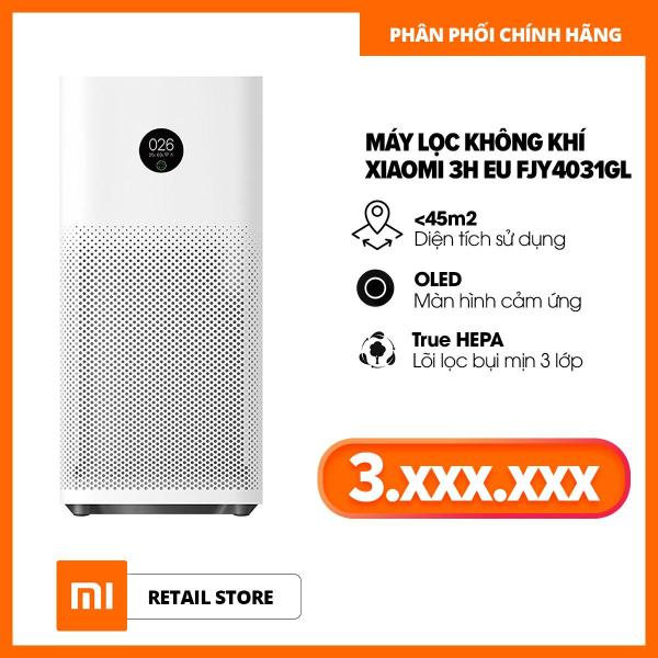 Bảng giá Máy Lọc Không Khí Xiaomi 3H EU FJY4031GL - Hàng Phân Phối Chính Hãng