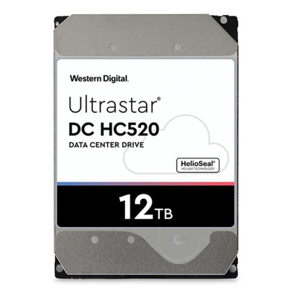 Giá Ổ cứng Western Digital Ultrastar DC HC520 12TB, chuyên dụng cho Sever, Nas