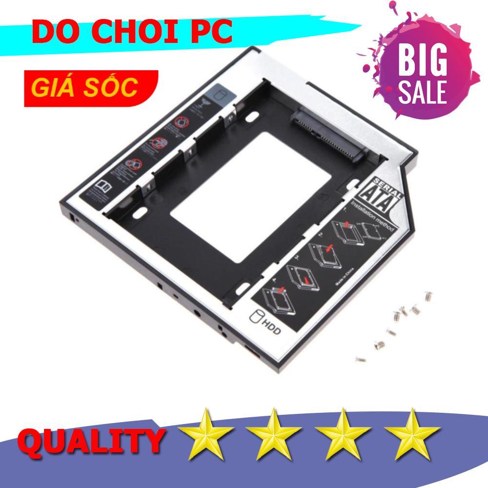 Giá Caddy Bay 12.7mm SATA 3.0 gắn thêm ổ cứng cho Laptop SL-106, Bảo vệ tốt hơn Hộp đựng ổ cứng Box HDD2.5 Orico 2599US3-BK / 2577US3 / 2139U3, Hộp đựng ổ cứng Box HDD 2.5 USB 3.0 Orico 2588US3