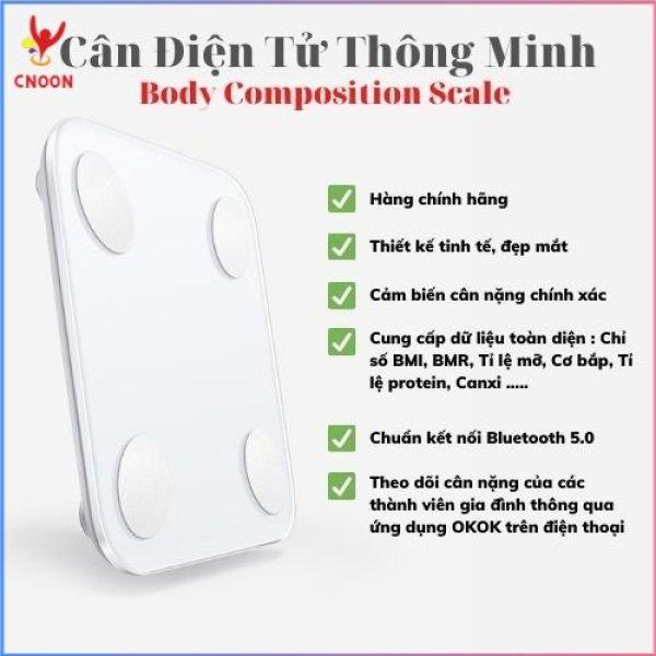 Cân sức khỏe điện tử thông minh Body Composition Scale Cân Bluetooth Cân phân tích chỉ số cơ thể - Cnoon Official