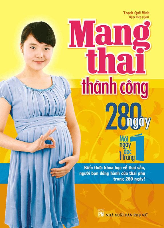 Sách Mang Thai Thành Công 280 Ngày – Mỗi Ngày Đọc Một Trang - Newshop