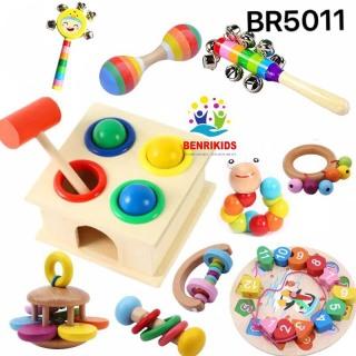 Đồ Chơi Gỗ Thông Minh Cho Bé Từ 0 Đến 5 Tuổi Phát Triển Trí Tuệ, Đồ Chơi Sản Xuất Theo Phương Pháp Montessori, Đồ Chơi Trẻ Em thumbnail