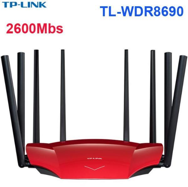 Bảng giá Bộ phát không dây TP-LINK TL-WDR8690 AC2600 2600Mbs Gigabit Wifi routrer xuyên tường Phong Vũ