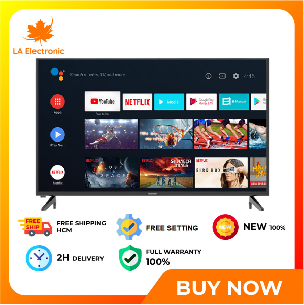 Bảng giá Smart Tivi Skyworth 42 inch 42STC6200 - Free shipping HCM - Extended, smoother color reproduction with 10-bit Panel technology Efficient image processing, enhanced detail Full HD resolution, sharp and vivid display