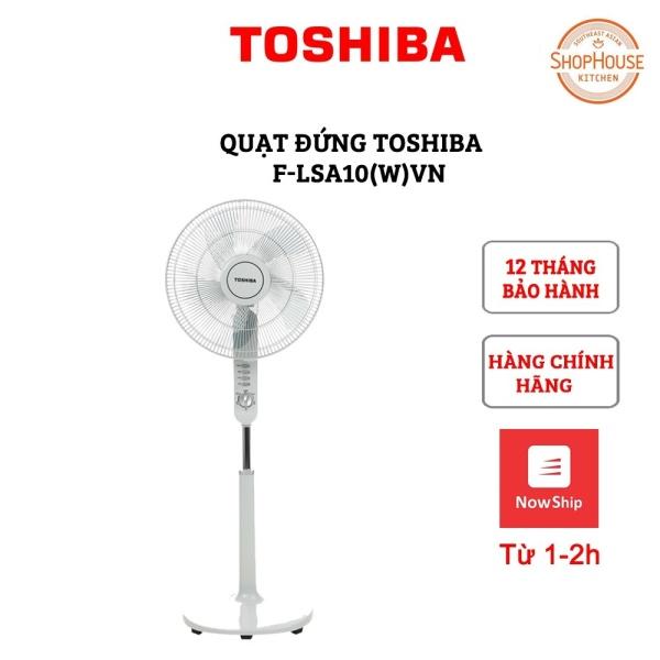 Quạt đứng Toshiba F-LSA10(H)VN Màu Xám- Hàng Chính Hãng - Bảo hành toàn quốc