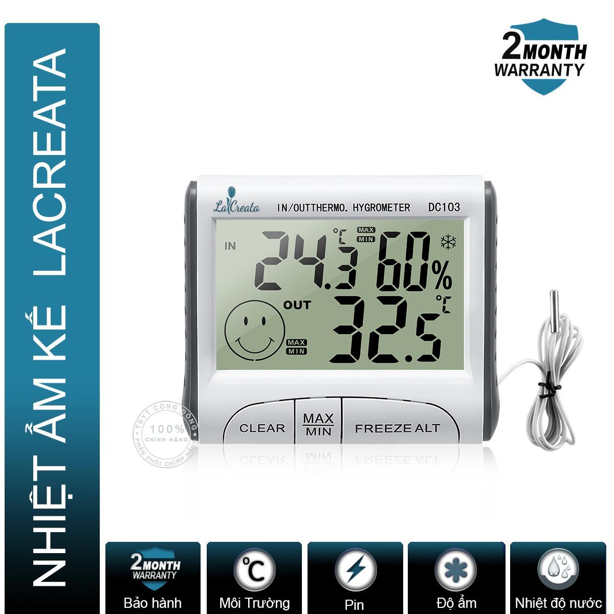 Nhiệt ẩm kế điện tử LaCreata bán chạy