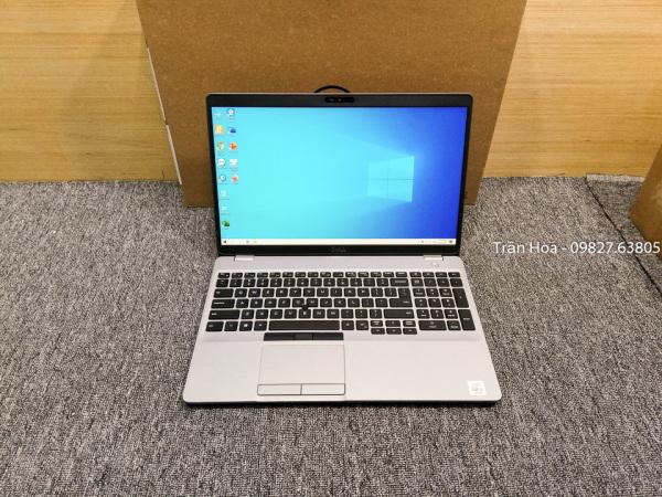 Bảng giá Laptop Dell Latitude 5510 - Core i5 10210u, Ram 8GB, ổ SSD NVMe 256GB, Màn 15.6inch FullHD tràn viền, có bàn phím số phụ, đèn bàn phím LED phát sáng. Phong Vũ
