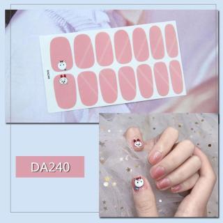 Sticker dán trang trí móng tay họa tiết dễ thương mã DA221 - DA240 thumbnail
