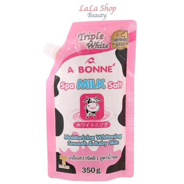 Tẩy Tế Bào Chết Muối Tắm Sữa Bò A Bonne Spa Milk Salt Thái Lan 350g giá rẻ