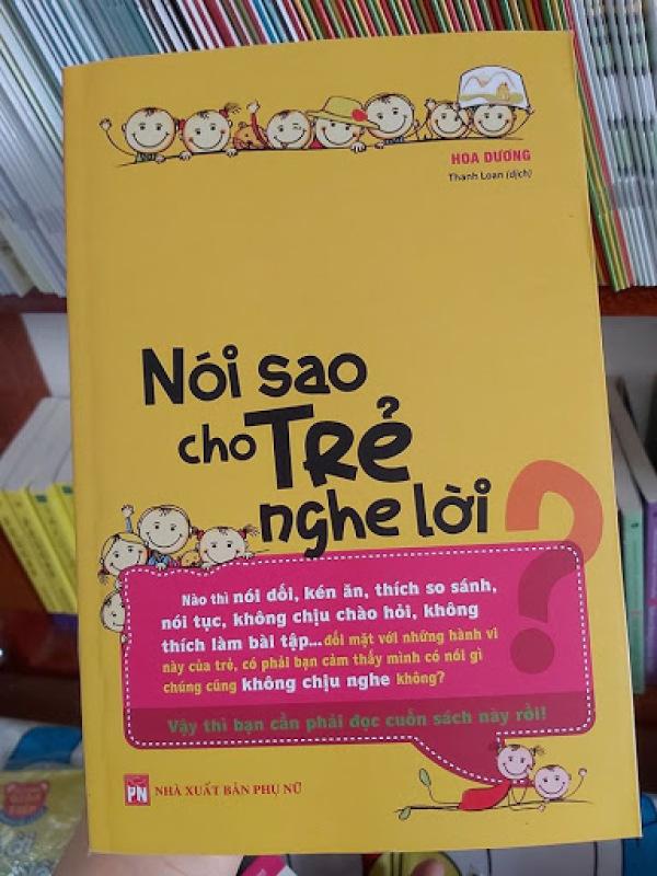 Nói Sao Cho Trẻ Nghe Lời TẶNG KÈM BOOKMARK CỔ TRANG