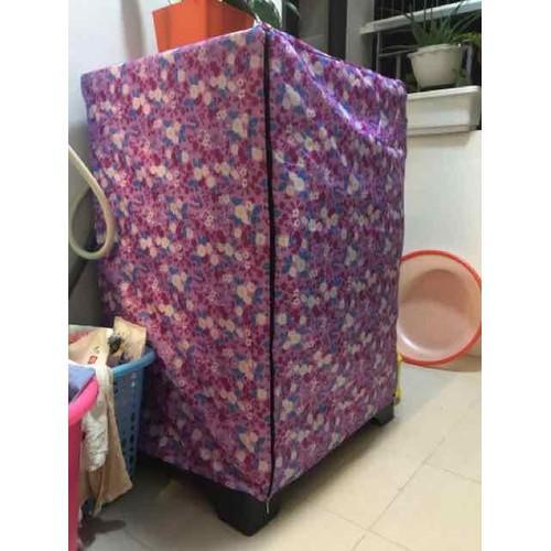 Áo Trùm Máy Giặt Cửa Trước 9 kg Vải Dù Siêu Bền Chống Thấm Cực Tốt