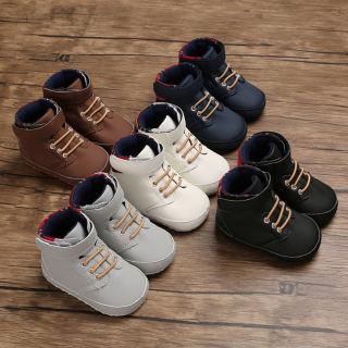 Giày tập đi vải cotton đế mềm chống trượt cho bé trai và bé gái 5 màu sắc khác nhau để lựa chọn - Kisseangel - INTL