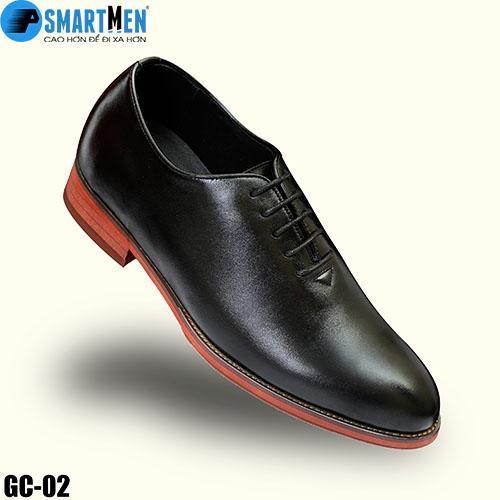 Giày Tây Tăng Chiều Cao Da Bò SMARTMEN GC-02 Đen Giá Tốt Không Nên Bỏ Lỡ