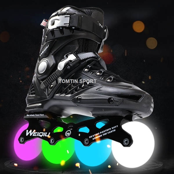 Phân phối Giày patin cao cấp 8 bánh phát sáng Weiqui Kingfly có size từ 38-44 cho thanh niên và người lớn [TOMTIN SPORT]