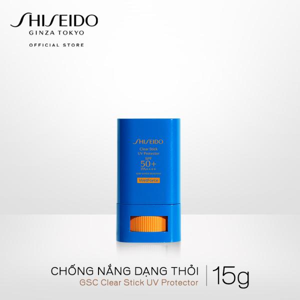 Chống nắng dạng thỏi Shiseido GSC Clear Stick UV Protector