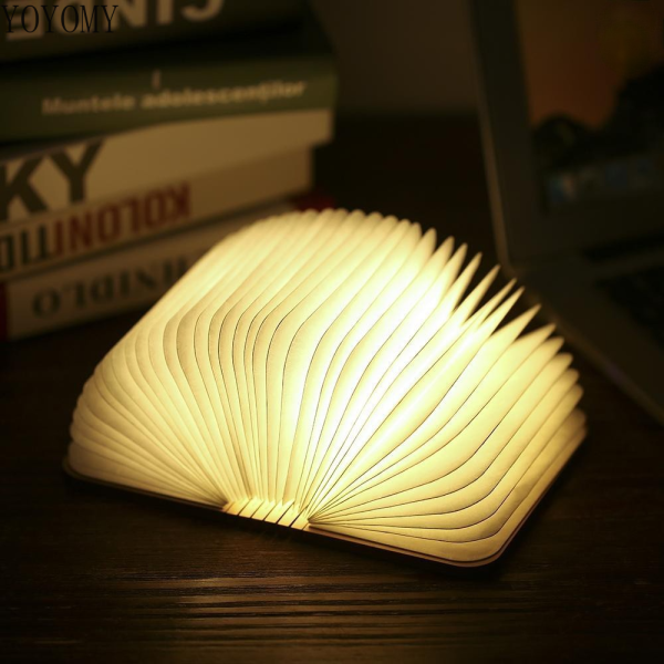 8 LED Mini Foldable Book Lamp Desk Light with Ultrasonic Mosquito Repellent Technology USB Powered Operated Warm White Indicator Pilot Lamp Design for Home Living Study Room Bedroom Decoration (new)