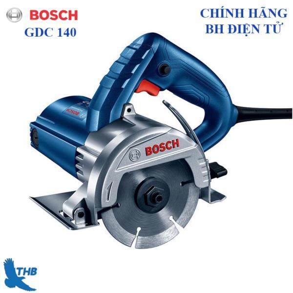 Máy cắt gạch cầm tay giá rẻ Máy căt đá hoa cương Bosch GDC 140 Cồng suất 1400W Độ sâu cắt 35mm Đĩa 115mm Bảo hành điện tử 6 tháng