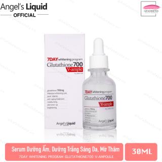 Huyết Thanh Dưỡng Sáng Da Angel s Liquid 7day Whitening Program Glutathione 700 V-Ample 30ml thumbnail