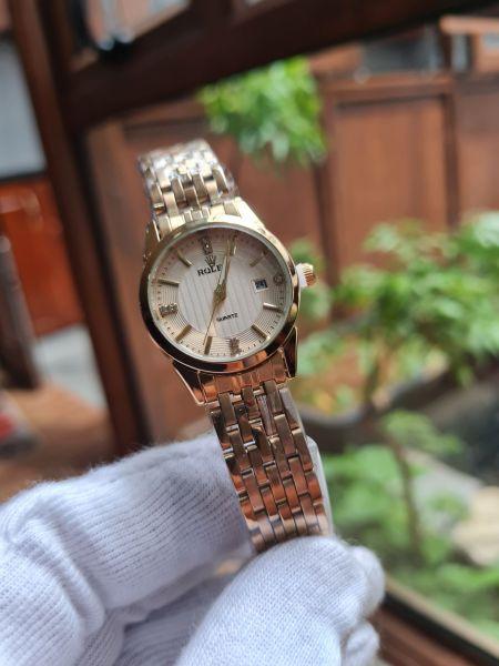 Đồng hồ nữ ROl.LEX 28mm chống nước máy nhật bán chạy