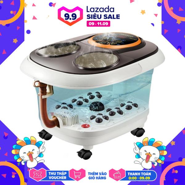 Máy mát xa chân, máy massage bàn chân Obis bồn ngâm chân tự động thêm nhiệt máy mát xa điện cao cấp