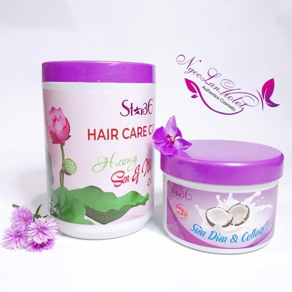 Hấp Ủ xả tóc Sen & Nhân Sâm & collagen cô đặc 500, 1000ml nhập khẩu
