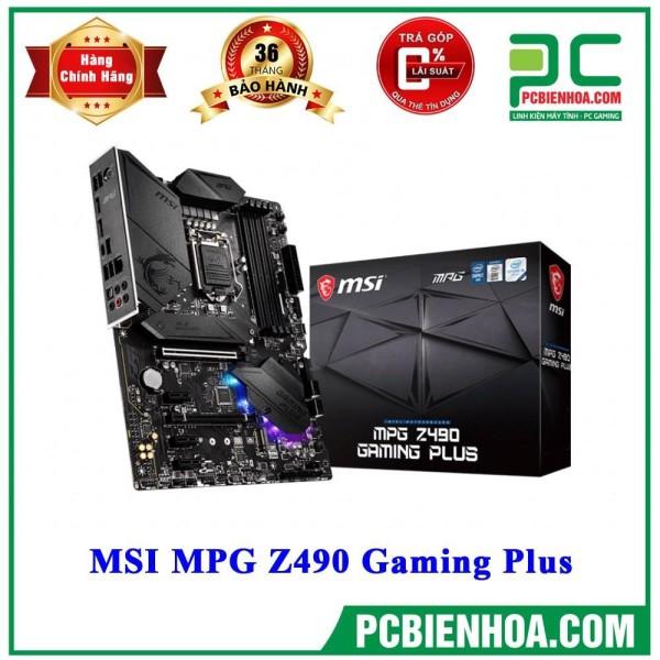 Bảng giá [Trả góp 0%]MAINBOARD BO MẠCH CHỦ MSI MPG Z490 GAMING PLUS ( LGA1200 / ATX / 4xDDR4 ) Phong Vũ