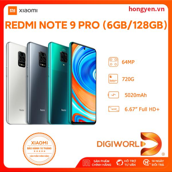 Điện thoại Xiaomi Redmi Note 9 Pro 6GB/128GB - Hãng phân phối chính thức