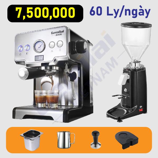 Bảng giá Combo máy pha cafe Gemilai 3605 Điện máy Pico
