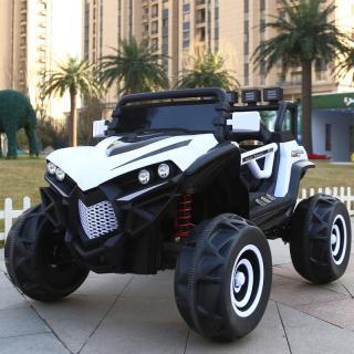 Ô tô xe điện siêu địa hình XJL-588 2 ghế 4 động cơ cho bé tự lái và điều khiển ( Đỏ -Trắng - Xanh) thumbnail