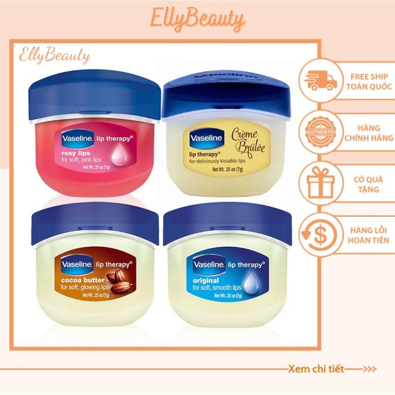 SON DƯỠNG Giảm thâm môi Vaseline Lip Therapy 7g (Dạng Hũ)