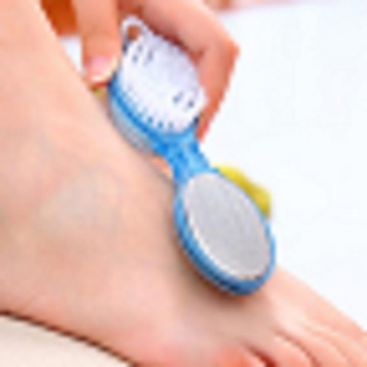 Dụng cụ chà gót chân 4 trong 1 tiện dụng - Chà gót chân - Cây chà gót chân tẩy da chết