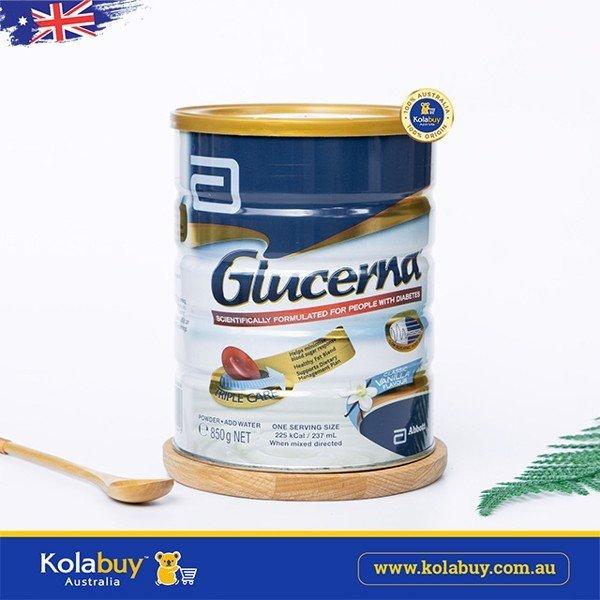 Sữa tiểu đường Glucerna Triple Care Vanilla 850g nhập khẩu