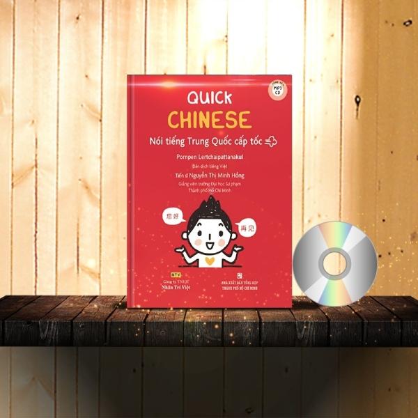 Mua Quick Chinese – Nói tiếng Trung Quốc cấp tốc (Trung – Pinyin – Việt) (Có Audio, CD nghe) + DVD quà tặng