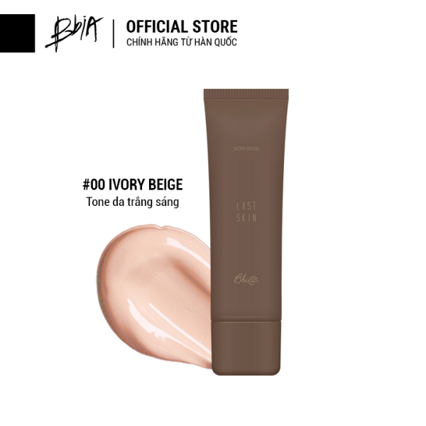 [Mới] Kem Nền Tự Nhiên Bbia Last Skin 50ml ( 3 màu lựa chọn ) nhập khẩu