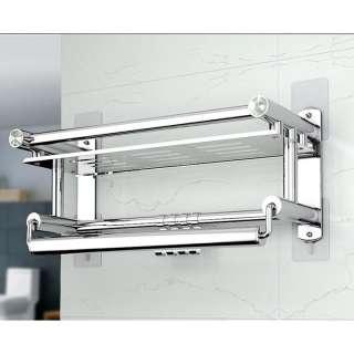 Giá Treo Khăn Dính Tường Phòng Tắm Inox 201 Mengni - hình 1