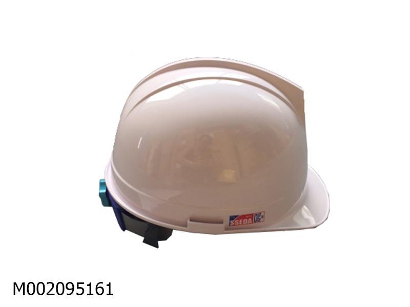 Mũ an toàn SSEDA Hàn Quốc Fashion I màu trắng mặt tròn có gài