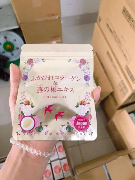 Viên uống COLLAGEN yến tươi Nhật Bản - 30 ngày 30 viên