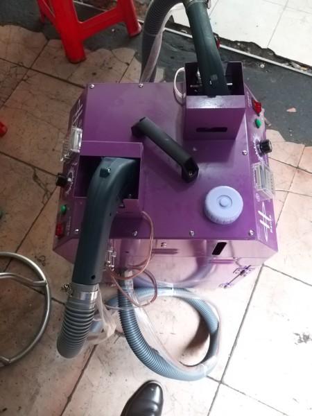 Máy cắt chỉ máy hút chỉ thừa loại 2 moter