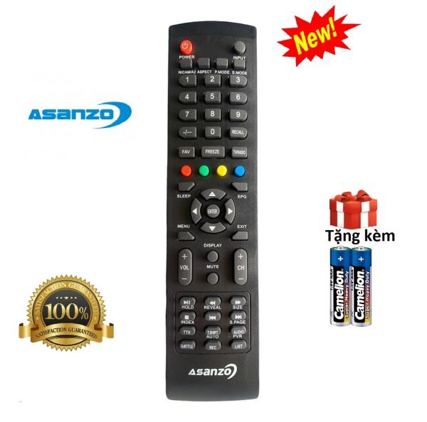 Bảng giá Điều khiển tivi Asanzo , remote tv asanzo led/lcd/smart - Hàng chuẩn [ tặng kèm pin ]