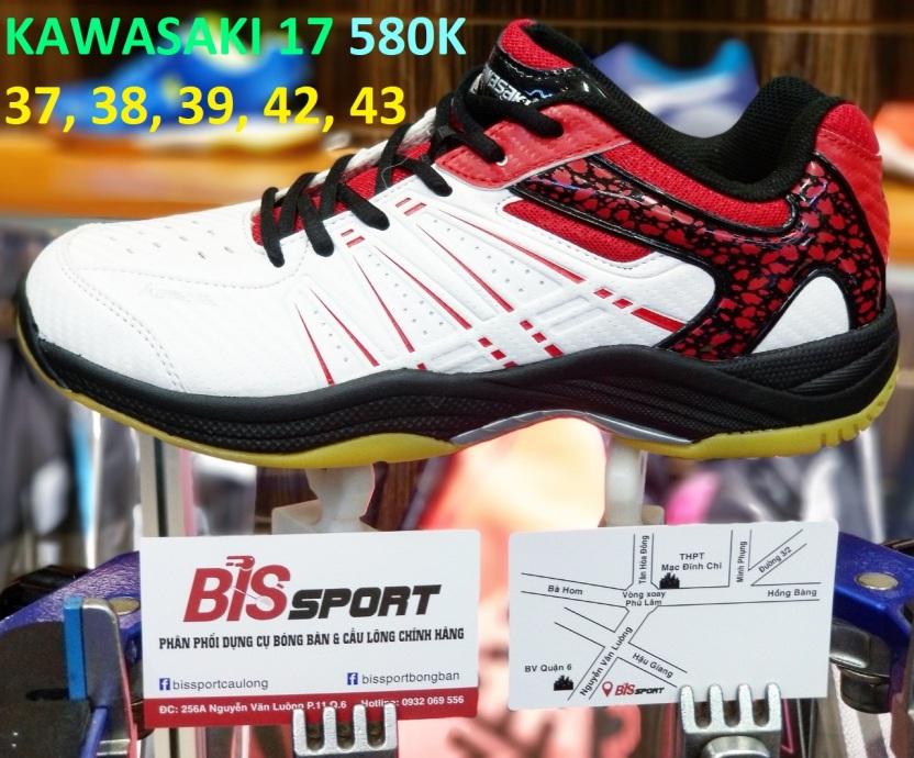 Giày cầu lông Kawasaki K-063 giá rẻ
