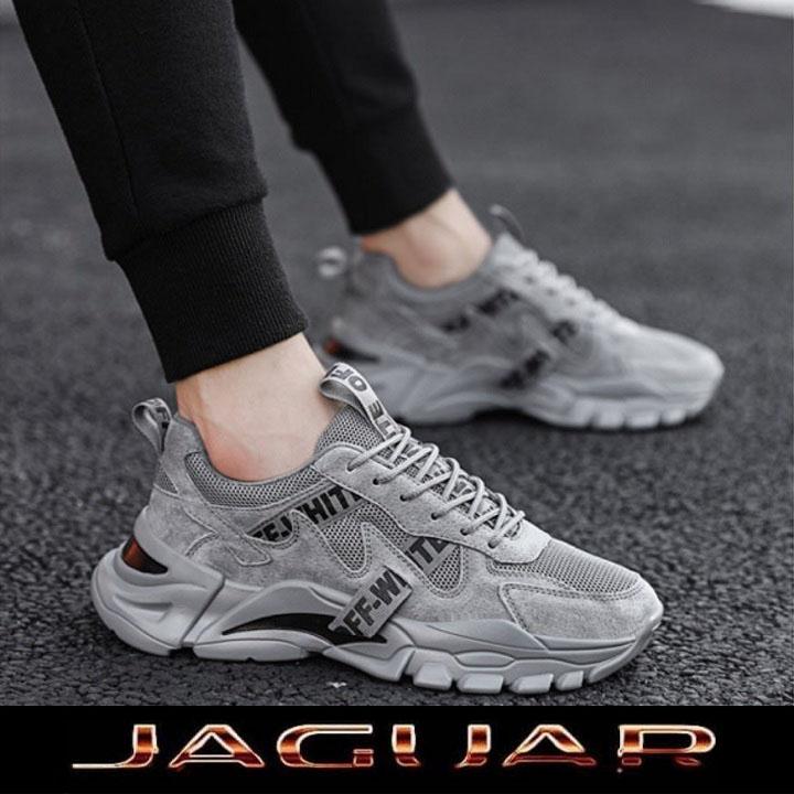 Giày Thể Thao Nam Sneaker Jaguar, Đế Tăng 5Cm Chiều Cao, Kiểu Dáng Mạnh Mẽ Cực Chất, Đế Cao Su Cao Cấp Bền Đẹp, Chống Trơn Trượt