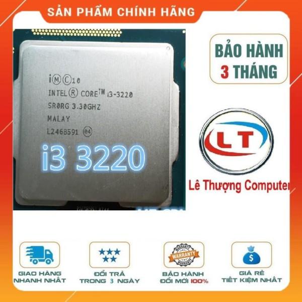Bảng giá CPU core i3 2100; i3 3220; i3 41xx bóc main Phong Vũ