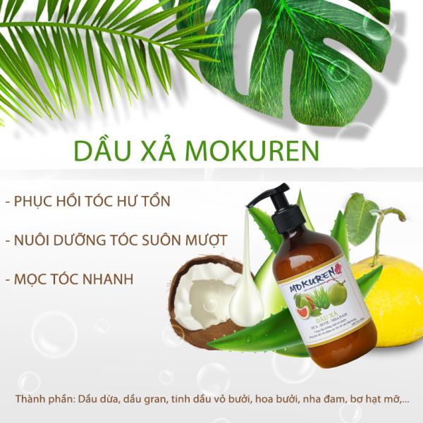 Dầu xả dừa, bưởi, nhà đam Mokuren