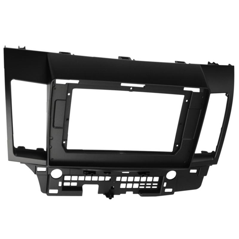 2Din Car Radio Fascia Frame For MITSUBISHI Lancer 2010-2015 Car DVD Player Panel Dash Kit Installation Frame Trim Bezel Giá Tốt Duy Nhất tại Lazada
