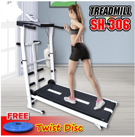 Bảng giá Máy chạy bộ cơ SH-S306 Treadmill thích hợp cho cả người lớn và trẻ nhỏ